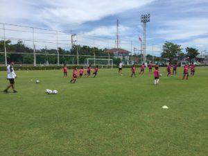 セレッソ大阪 サッカースクール サッカーキャンプinノンタブリー 練習風景2