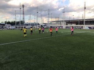 セレッソ大阪 サッカースクール サッカーキャンプinノンタブリー 練習風景1